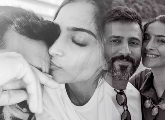 Sonam Kapoor's romantic moments with hubby Anand amid COVID 19 lockdown!
