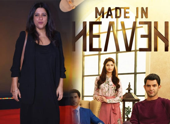 Zoya Akhtar opens up on intimate scenes in Made in Heaven!