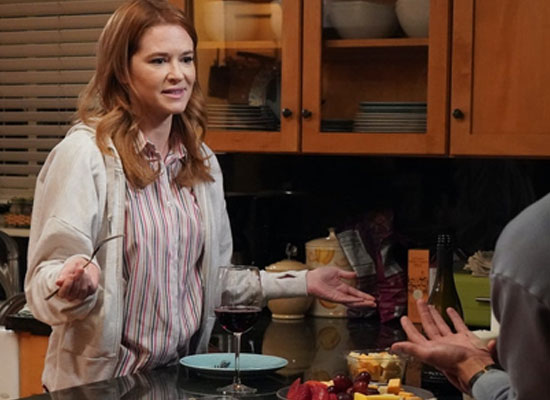 Sarah Drew opens up on Jackson and April's reunion in